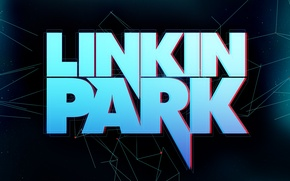Picture line, logo, stars, Linkin Park