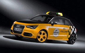 Wallpaper taxi, taxi auto, Audi A1 wortherse 981