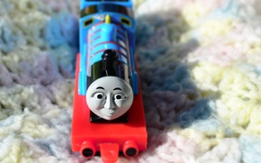 Picture toy, children, blanket, white background, train, blue color