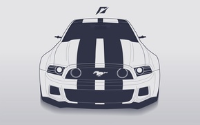 Picture Mustang, Ford, Ford, Mustang, Need for Speed, 2014, ART Line