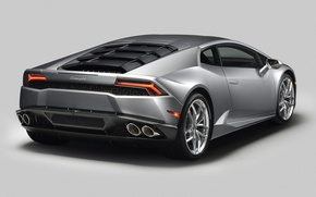 Picture Lamborghini, supercar, rear view, Lamborghini, Huracan, Huracan, 610-4