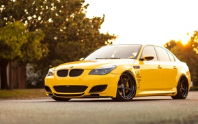 Picture car, tuning, BMW, bmw m5, rechange, e60, hq Wallpapers