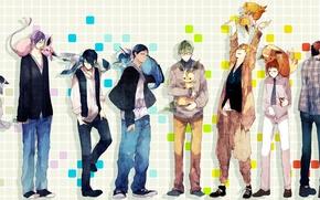 Picture animals, sneakers, jeans, anime, art, tie, pendant, shirt, guys, sweater, pokemon, kuroko from basket, umbreon, …