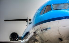 Wallpaper the plane, aviation, Air France