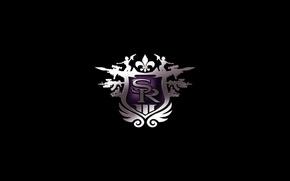 Wallpaper purple, logo, the, thq, saints, saints row, third, row