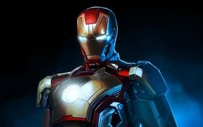 Picture Iron Man, suit, Tony Stark