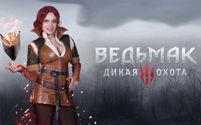 Picture Triss Merigold, CD Projekt RED, Cosplay, The Witcher 3: Wild Hunt, The Witcher 3: Wild …
