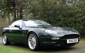 Picture auto, Aston Martin, dark green