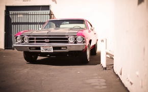 Picture coupe, Chevrolet, Chevrolet, Coupe, muscle car, the front, Chevelle, Sevil