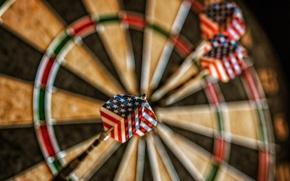 Wallpaper macro, sport, Patriot Dart
