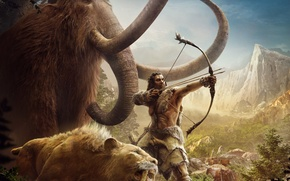 Picture Far Cry Primal, animals, male, animals, UbiSoft