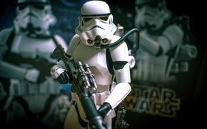 Picture weapons, toy, Star Wars, figurine, Star Wars, Stormtrooper
