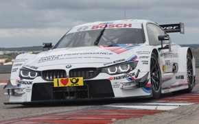 Picture BMW, Race, Front, Day, DTM, Track