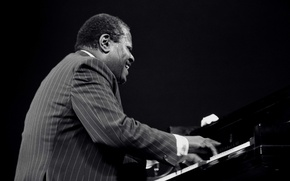 Picture music, jazz, piano, musician, pianist, jazz musician, Oscar Peterson