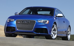 Picture audi, blue, coupe, rs5
