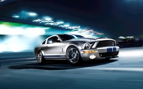 Wallpaper speed, Ford, Shelby, GT500KR, 540 horsepower, Ford Shelby