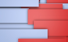 Picture red, grey, geometry, design, color, material