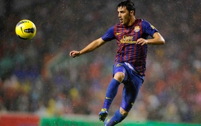 Picture football, star, form, player, Barcelona, player, David Villa, villa, the Spaniard, FC Barcelona, Villa, David …