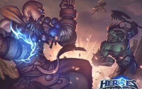 Picture starcraft, diablo, Orc, fan art, monk, nova, nova terra, Heroes of The Storm