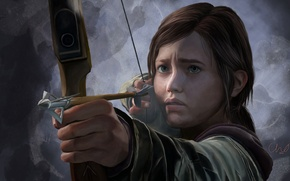 Picture girl, Ellie, The Last Of Us, some of us