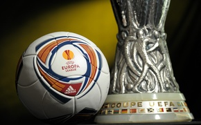 Picture the ball, Cup, uefa, champions league, trophies, europe league