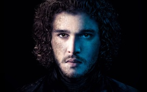 Wallpaper Series, Game of Thrones, Winterfell, Jon Snow, Kit Harington, HBO, son of the late Lord ...