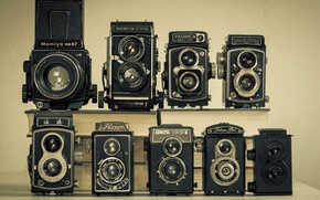 Picture retro, model, classic, collection, cameras