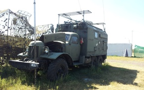 Picture military, weapon, truck