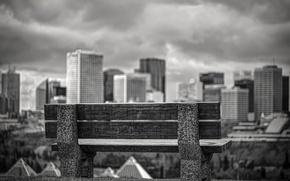 Picture view, Canada, shop, bokeh, Edmonton