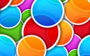 Picture abstract, abstraction, background, colors, colorful, circles, background, circle