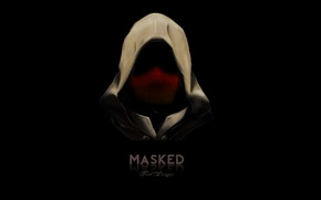 Picture dark, silence, assassin, killer, hood, masked