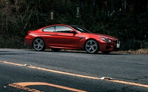 Picture auto, tuning, BMW, coupe, red, bmw m6