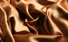 Picture Shine, texture, fabric, folds, brown, gold