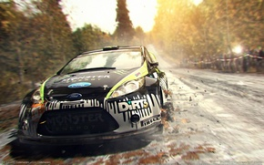 Wallpaper Ford, rally, dirt, dirt 3