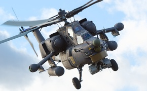 Picture helicopter, Mi-28N, night hunter