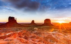 Picture landscape, rocks, desert, canyon