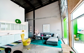Picture design, style, interior, loft, Glass Loft, Weishouse