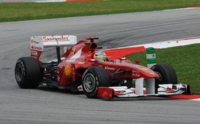 Picture formula 1, ferrari, Ferrari, formula 1, 2011, Fernando Alonso, Malaysian GP, Fernando Alonso, Sepang, The …