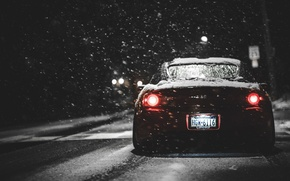 Picture car, Honda, jdm, winter, snow, stance, s2000, canibeat