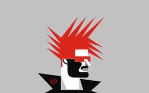 Picture rock, logo, fashion, digital, design, style, art, realism, models, punk, pop, haircut, radic, zelko, bfvrp