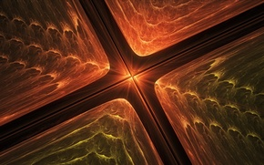 Picture abstraction, color, fractal