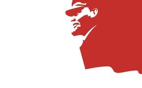 Picture minimalism, USSR, USSR, Lenin, communism, communism, minimalism, the proletariat, the leader, Lenin
