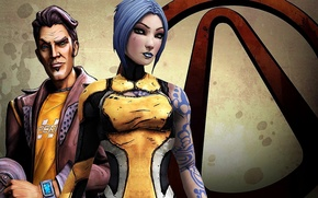 Picture jack, maya, action, Borderlands 2, cel shading
