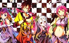Picture Jibril, Stephanie Dora, No Game No Life, Series Sora, Yu And Kamiy