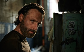 Picture The Walking Dead, Andrew Lincoln, Season-5, the role