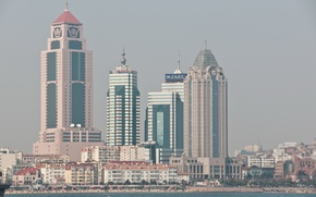 Picture the city, shore, China, Qingdao