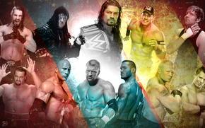 Picture Champion, Wrestling, WWE, The Rock, John Cena, Randy Orton, Triple H, Rusev, Roman Reigns, Seth …