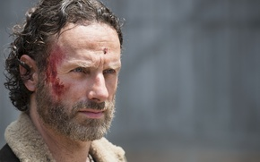 Picture look, face, The Walking Dead, Andrew Lincoln