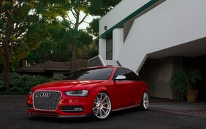 Picture Audi, red, Vorsteiner, V-FF, 102