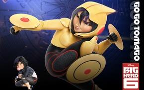 Picture Animation, Walt Disney Pictures, Movie, Big Hero 6, Tomago, Go Go